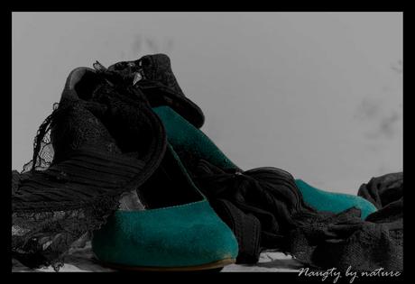 De stoute schoenen...