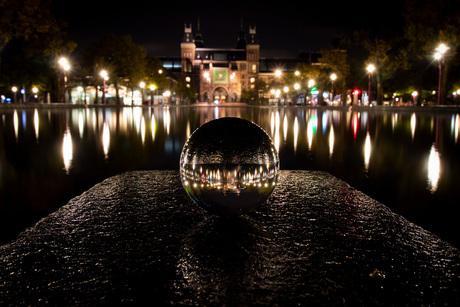 Amsterdam Rijksmuseum Lensball