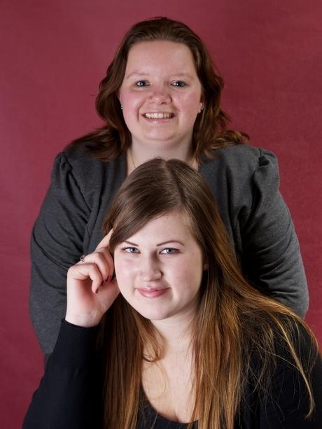 Foto shoot Linda en Mariska