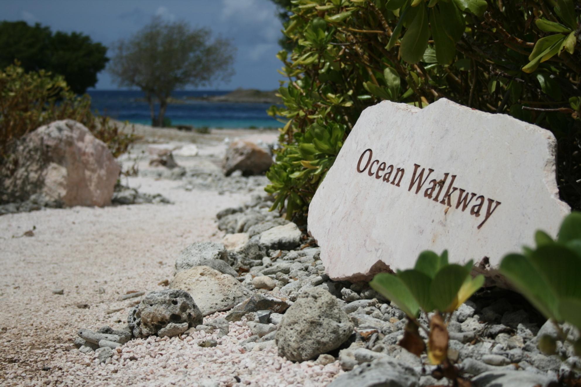 Ocean walkway - - - foto door barryvanstrien op 07-08-2015 - deze foto bevat: zon, strand, zee, vakantie, landschap, zomer, beach, curacao, oceaan, caribbean, caraçao - Deze foto mag gebruikt worden in een Zoom.nl publicatie