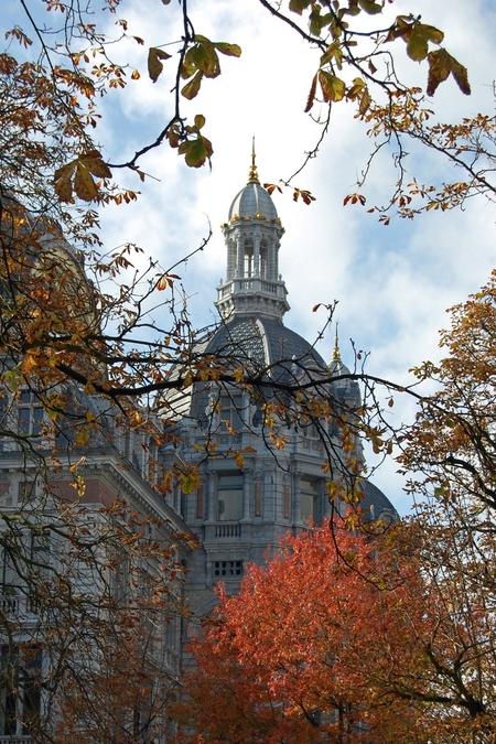 Herfst in Antwerpen - - - foto door rulica op 28-10-2009 - deze foto bevat: station, herfst, antwerpen