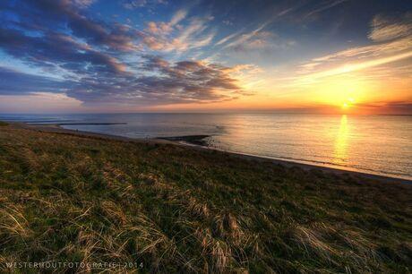 Mooie zonsondergang || Huisduinen, Nederland