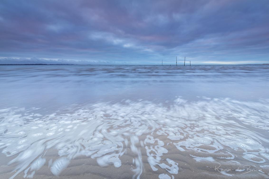 Lace Collor! - - - foto door KarindeBruin op 12-03-2021 - deze foto bevat: lucht, wolken, zon, strand, zee, water, natuur, licht, avond, zonsondergang, landschap, tegenlicht, zand, kust, lange sluitertijd