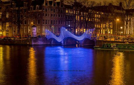 Light Festival Amsterdam Lightbridge