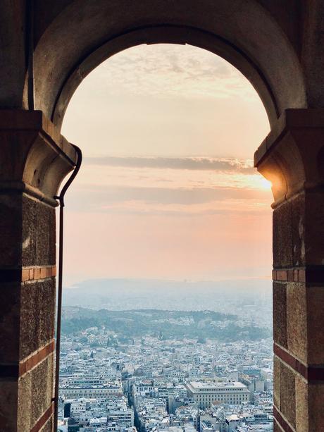 Doorkijk over Athene