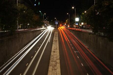 Nachtje op stap, Autotunnel