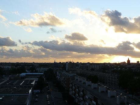 mooi zon en wolken