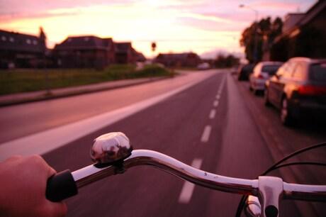 Alles op de fiets