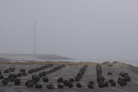 Neeltje Jans in de mist