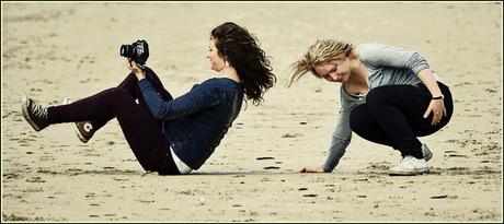 fotograferen op het strand