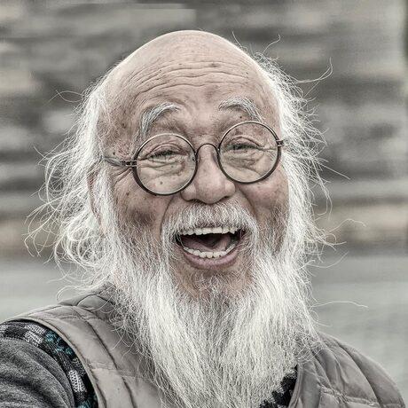 Chinese man in Beijing