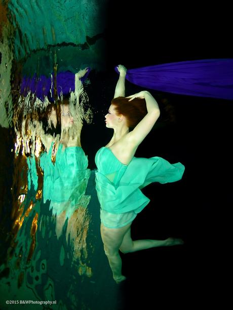 Onderwater Danseres