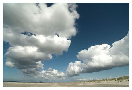 Strandschap bij Formerum, Terschelling
