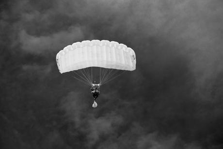 Skydiving on Texel