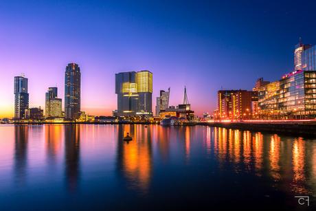 Wat is Rotterdam toch mooi...