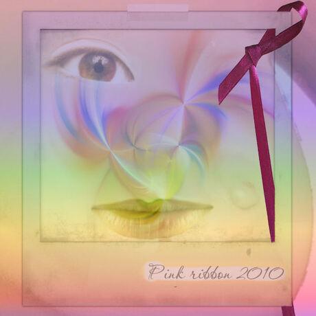 Bewerkingsopdracht/ Pink Ribbon