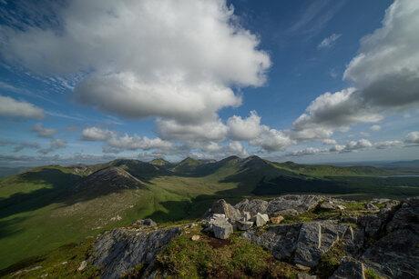 Twelve Bens mountains Ierland