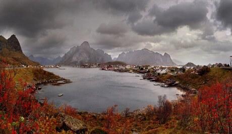 Panorama Reine Lofoten