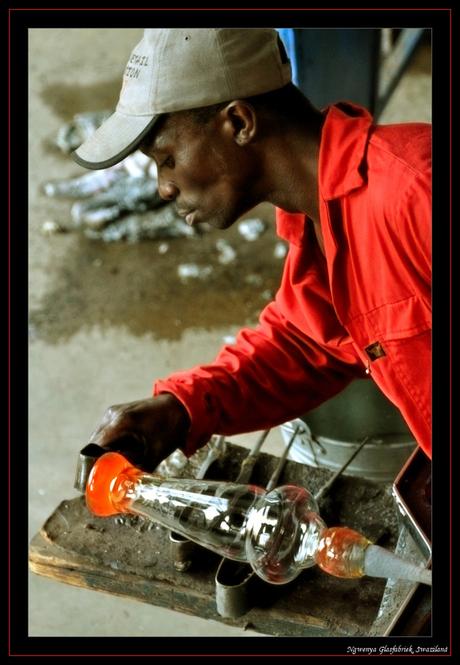 Glasblazer Swaziland 2