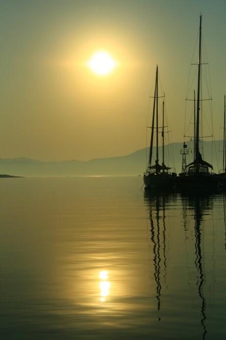 Sunrise at Kastos Iland