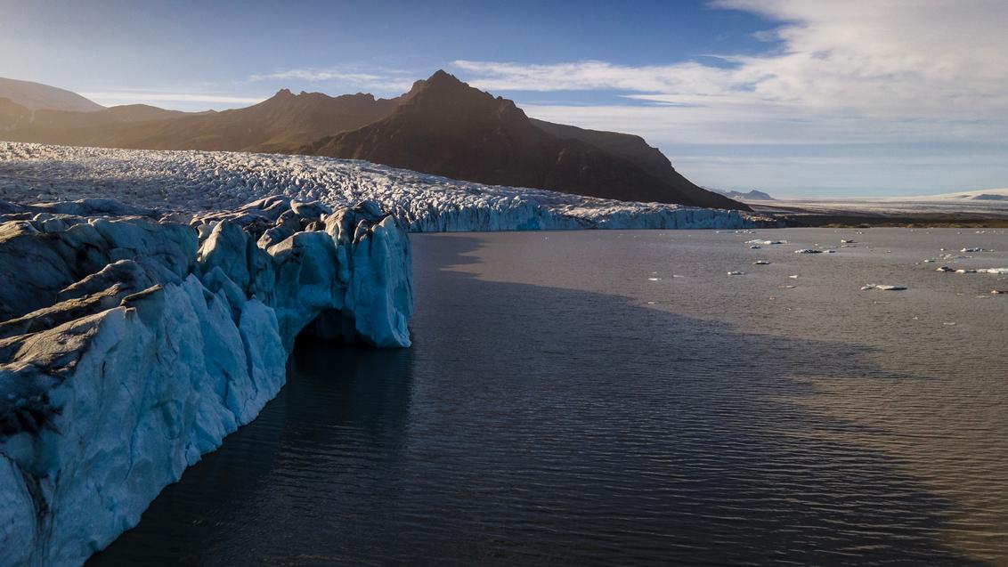 Fjallsárlón Gletsjer, IJsland - Fjallsárlón Gletsjer, IJsland - foto door B-M-Brouwer op 24-11-2020