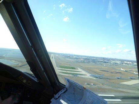 Landing JFK Airport...