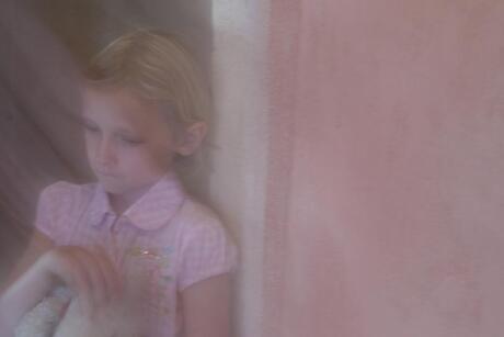 roze meisje