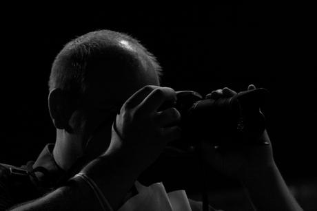 Colega fotograaf op ZoomExperience