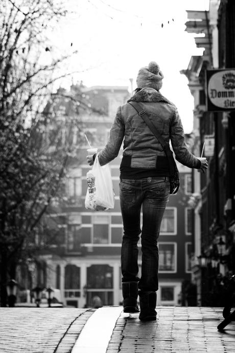 Op straat; Amsterdam 2