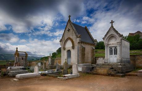 grafhuisjes in kleur