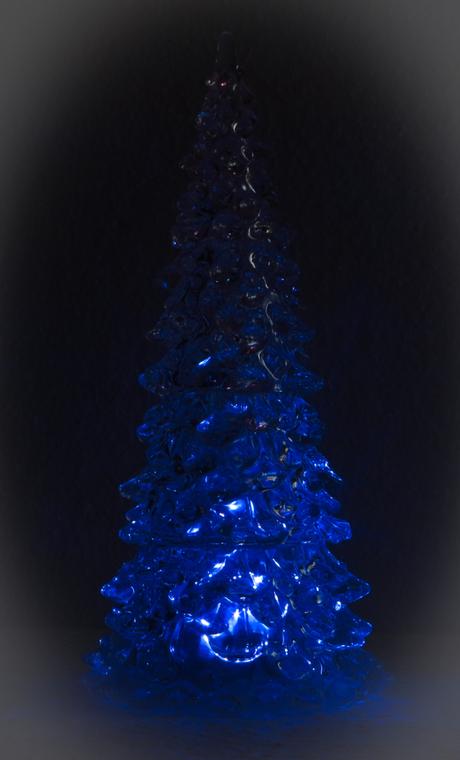kertsboom met licht