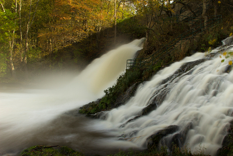 Watervallen bij Coo