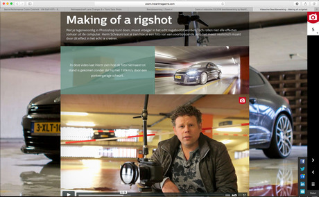 The making of a Rigshot - Videozine ZOOM.nl