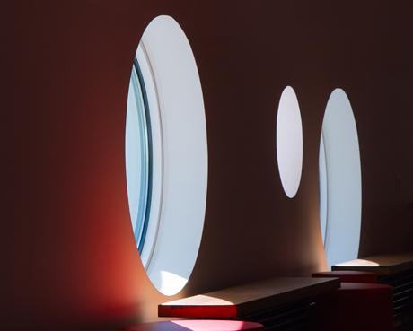 Licht door de ramen