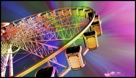 in the Ferris wheel ...