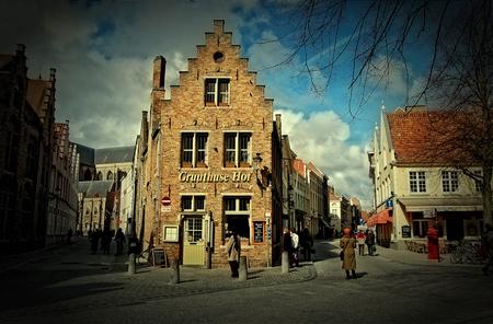 Brugge - Wederom een stukje Brugge :) - foto door thuban op 22-03-2010 - deze foto bevat: straat, stad, belgie, brugge
