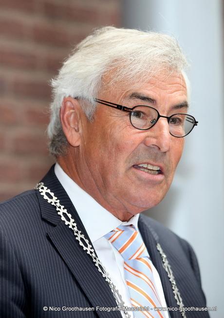 Burgemeester Martin Eurlings van Valkenburg aan de Geul