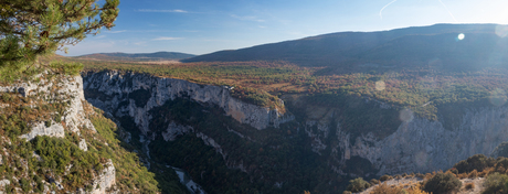 Last day view over the Gorges du Verdon