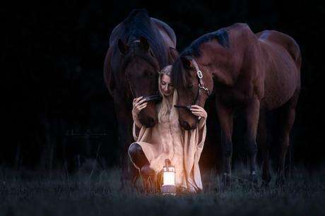 Mijn lichtje in de donkere dagen.