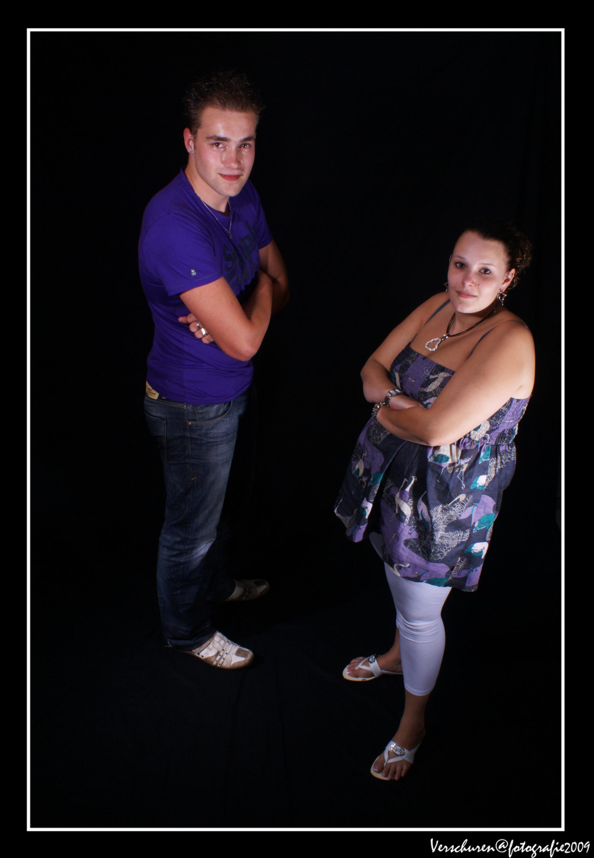 Nicole & Theo - Zo dat was ie dan, deze serie zit er ook weer op. Ik heb nog veel meer foto's die jullie nog niet gezien hebben, maar het moet wel leuk blijven.  G - foto door verschuren op 26-07-2009 - deze foto bevat: familie, theo, nicole, fotoshoot, verschuren