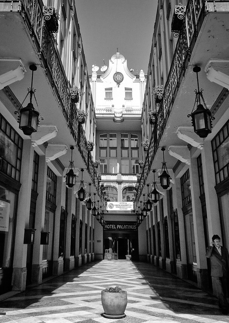 Hotel Palatinus, Pécs.