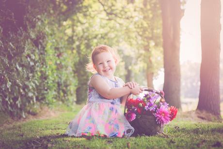 Mijn bloemenmeisje!