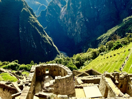 De zonnetempel / Machu Picchu