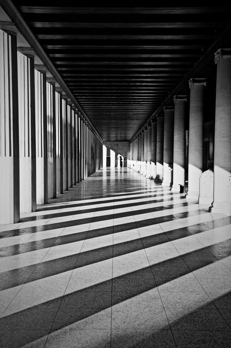 Black & White in Athens.