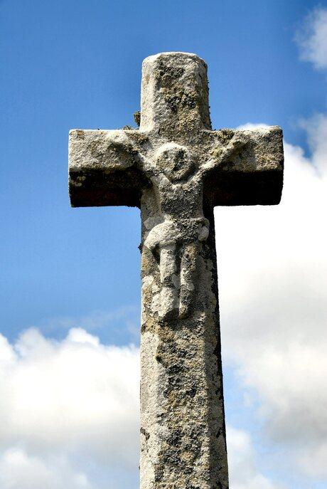 Schanulleke aan het kruis