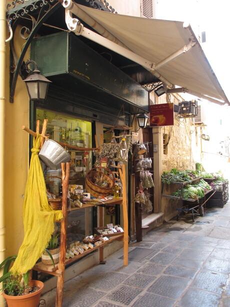Authentieke kruidenierswinkel
