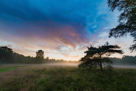 Zonsondergang op de heide deel 2