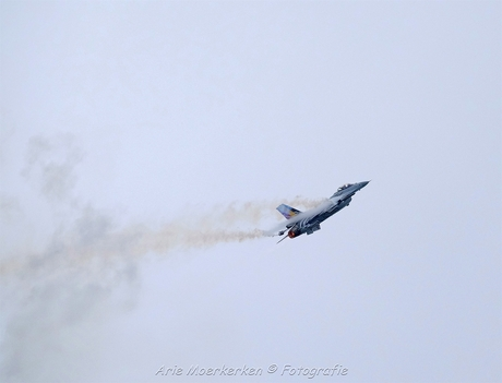 F16 tegen stall aan