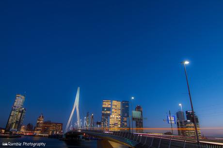 Rotterdam. Erasmusbrug. Holland.