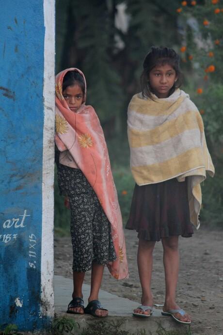 Two Nepali girls